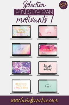 Sélection de fonds d'écran motivants pour PC !  Article - La Vie Frenchie blog  Article, blog, blogging, baby blogger, sélection, fonds d'écran, motivant, motivation, inspiration, motivational, PC, couleurs, La Vie Frenchie, lifestyle, freebies, wallpapers, laptop.