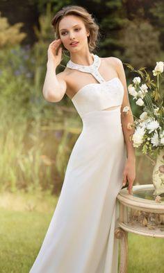 Modern Designer Wedding dress Empire bridal by MariStyleCouture, $750.00