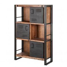 Best Of Cupboard Shelves Designs Cupboard Shelves, Storage Shelves, Locker Storage, Shelving Ideas, Metal Furniture, Industrial Furniture, Furniture Design, Industrial Storage, Shabby Chic Design