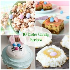 The Cutest 10 Easter Candy Recipes !