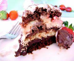 Receitas Bom Apetite: Bolo de Chocolate com Morango