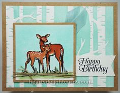 Heart's Delight Cards: Doe, a Deer
