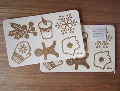 冬のグリーティングカード -- Winter greeting card【120mm×190mm/1枚230円】