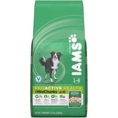 Iams ProActive Health Adult, 1-6 years, Mini Chunks Premium Dog Food 5.7 lbs >>> Special dog product just for you. See it now! : Dog food brands
