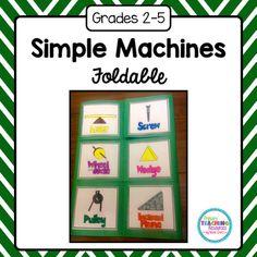 simple machine foldable