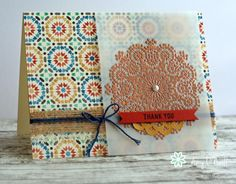 Copper Moroccan Medallion by Amy O'Neill Ramadan Cards, Eid Cards, Paper Art, Paper Crafts, Diy Crafts, Crochet Needles, Sketch Design, Stampin Up Cards, Card Making
