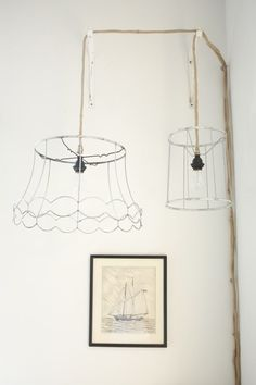 DIY: ghost lamps
