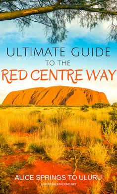 Thinking of doing an Australia road trip? Here's a route to consider: Alice Springs to Uluru via the Red Centre Way. Brisbane, Melbourne, Travel Advice, Travel Guides, Travel Tips, Budget Travel, Red Centre, Visit Sydney, Australia Travel Guide