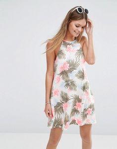 New Look Floral Print Swing Dress 24