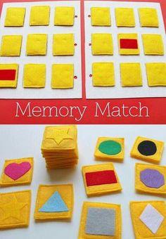 Memory match game // kids educational games