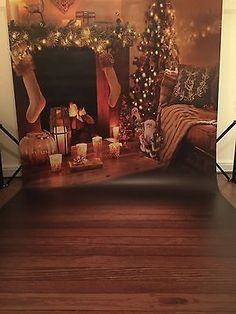 Vinyl Christmas Backdrop