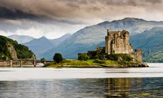 This would be a dream of mine to see in person.  I've always had an obsession with the Medieval time period & have always had a fascination with the castles of Great Britain, namely Scotland. [ Eilean Donan Castle, Scotland ]