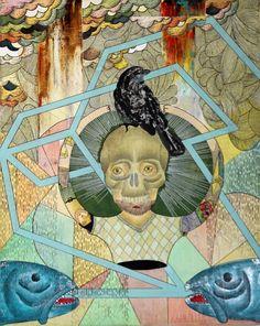 """cabeza huesuda"" Painting, Art, Art Background, Painting Art, Kunst, Paintings, Performing Arts, Painted Canvas, Drawings"