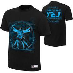 Jericho http://shop.wwe.com/Chris-Jericho-%22Light-It-Up%22-Authentic-T-Shirt/77092,default,pd.html