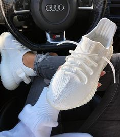 For sale Adidas Yeezy Boost 350 sneakers sneakers fashion shoes sport men woman style adidas yeezy yeezyboost 336503403409285506 White Sneakers Outfit, White Nike Shoes, White Nikes, Sneakers Fashion, Fashion Shoes, Shoes Sneakers, Adidas Sneakers, Yeezy Sneakers
