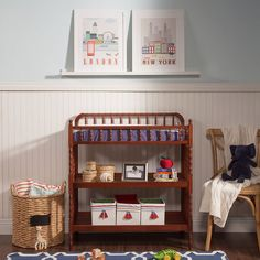 DaVinci Jenny Lind Changing Table, Red