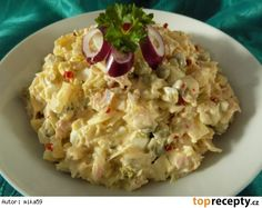 Zelný vlašák Czech Recipes, Ethnic Recipes, Salad Recipes, Snack Recipes, Hungarian Recipes, What To Cook, Potato Salad, Food To Make, Food And Drink