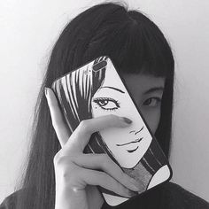 You tell me I'm a waste and I agree with that. Couple Aesthetic, Aesthetic Girl, Aesthetic Anime, Junji Ito, Arte Robot, Alternative Makeup, Sarada Uchiha, Tumblr Girls, Art Girl