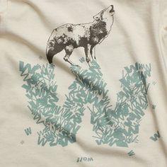 Wolf shirt made in USA!
