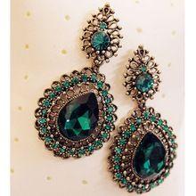 Nova temperamento moda strass mulheres elegantes de luxo brinco R3900 jóias(China (Mainland))