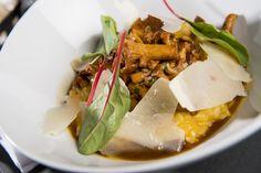 Carte Automne 2016 - Le risotto lié au butternut, champignons de saison & copeaux de parmesan #lyon #restaurant #gastronomie #vegetable