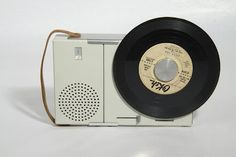 Portable record player, Dieter Rams for Braun, 1959