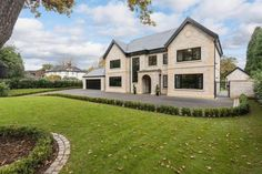 5 bedroom detached house for sale in Stunning new house - adjoining the Mere Golf Resort - Rightmove Dream House Exterior, Dream House Plans, Carport With Storage, Self Build Houses, 5 Bedroom House, New Homes For Sale, House Goals, Home Decor Styles, Detached House