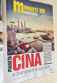 Magazine design layout. Millionaire
