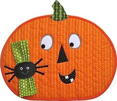 halloween placemat, go here for pattern…