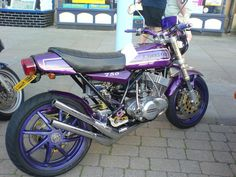 Sweet nail polish purple ride... though I wouldn't ride it myself!!