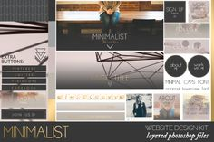 This premade graphics kit is great for all you DIYers that need a professional touch on your website or blog. This is a great cost effective alternative to hiring a professional designer