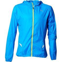 Puma Mens Windcell Lightweight Hooded Running Jacket Cloisonne