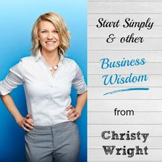 This farm-girl-at-heart has a lot of great advice to share on starting a business! Such a fun podcast interview full of business wisdom from Christy Wright.
