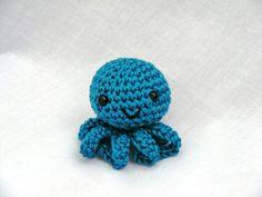 Mini amigurumi octopuss PDF crochet pattern