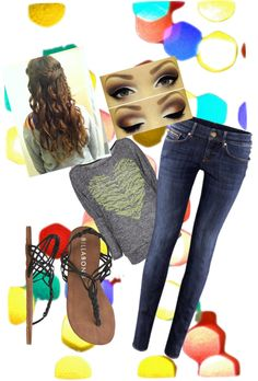 """""""cute outfit for school! :)"""" by lizam0406 ❤ liked on Polyvore"""