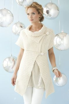 Capelet Swing Cardi | crochet today