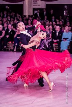 Weiping Li and Cen Angela Zheng - Blackpool Dance Festival Professional Ballroom June 2016