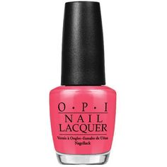 Shop OPI nail lacquers, treatments and more. The world leader in the professional nail care industry, OPI, is committed to providing high-quality products and services. Opi Nail Polish Colors, Opi Nails, Polish Nails, Nail Polishes, Manicures, Shellac, Sephora, Hot Pink Nails, White Nails