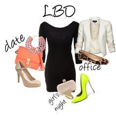 A little black dress is always in style