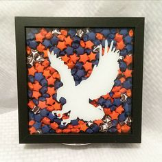 Check out this item in my Etsy shop https://www.etsy.com/listing/499569985/9x9-auburn-origami-shadowbox