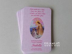 Santinho comunhão Jesus e menina   :: flavoli.net - Papelaria Personalizada :: Contato: (21) 98-836-0113 vendas@flavoli.net