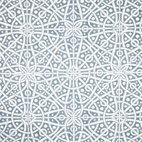 Galaxy Sail Blue Contemporary Cotton Print Drapery Fabric by Premium Prints 30 Yard Bolt