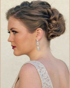 weave mohawk hairstyles : Prom Hair and Makeup by Hair Comes the Bride We created this vintage ...