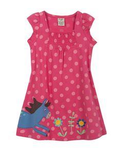 Frugi Girls Lola Tie back Summer Dress http://www.raspberryred.co.uk/clothes-by-brand/frugi/frugi-lola-tie-back-dress