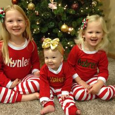 These girls are adorable! Thank you for sharing your photo! Making your pjs was so much fun!