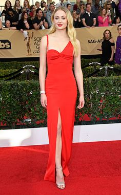 Sophie Turner from 2017 SAG Awards:  In Louis Vuitton