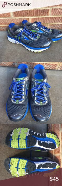 156ec7ed5f Brooks Ghost Athletic Running Shoes Tennis Awesome athletic shoes in great  condition minor wear and scuffs. Size Gray blue and green.