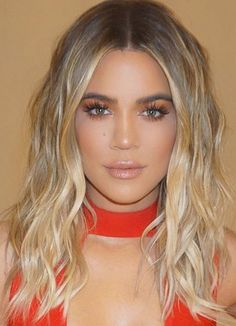 Image result for khloe kardashian blonde hair