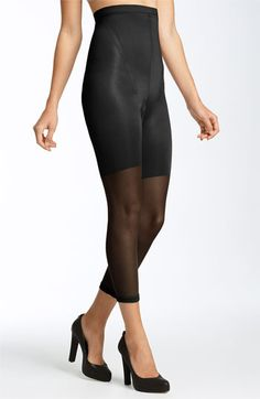 Keeping it all under control  SPANX® 'In-Power Line' High Waisted Footless Shaper (3 for $54) | Nordstrom