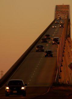 "The Rainbow Bridge, ""Scariest Bridge In Texas"""